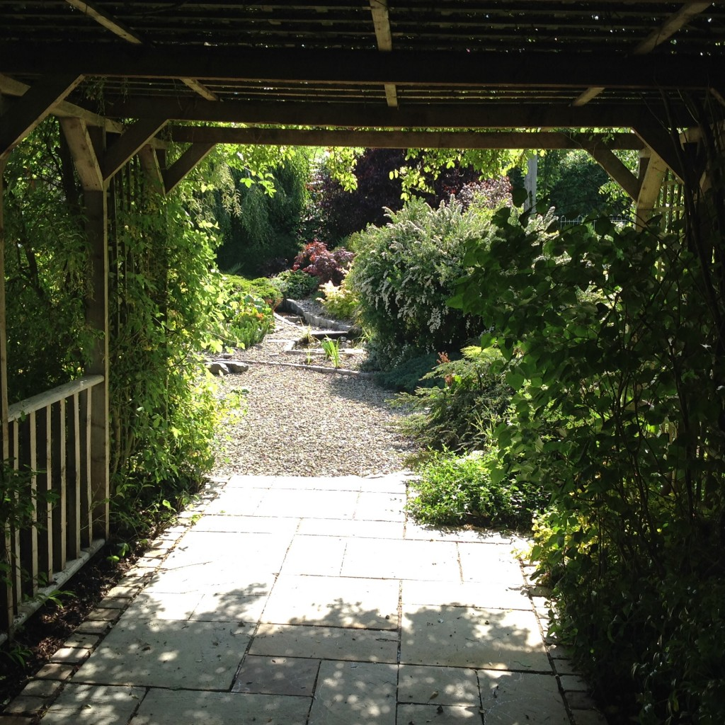 Under the Arbour at Blackwell House